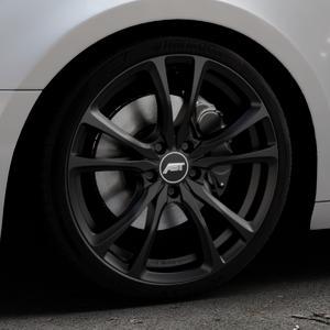 ABT Sportsline ER-C Matt black Felge mit Reifen schwarz in 19Zoll Winterfelge Alufelge auf silbernem Audi A4 Typ B9 (Avant) ⬇️ mit 15mm Tieferlegung ⬇️ Industriehalle 1 Thumbnail