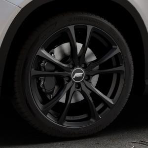 ABT Sportsline ER-C Matt black Felge mit Reifen schwarz in 19Zoll Winterfelge Alufelge auf silbernem Mercedes GLA-Klasse Typ X156 Facelift ⬇️ mit 15mm Tieferlegung ⬇️ Industriehalle 1 Thumbnail