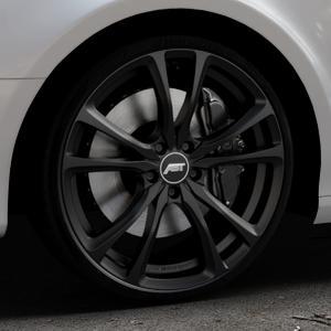 ABT Sportsline ER-C Matt black Felge mit Reifen schwarz in 20Zoll Winterfelge Alufelge auf silbernem Audi A4 Typ 8K5/B8 (Avant) ⬇️ mit 15mm Tieferlegung ⬇️ Industriehalle 1 Thumbnail