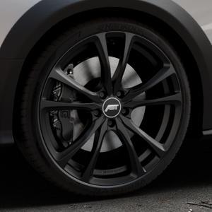 ABT Sportsline ER-C Matt black Felge mit Reifen schwarz in 20Zoll Winterfelge Alufelge auf silbernem Audi A4 Typ 8KH/B8 Allroad ⬇️ mit 15mm Tieferlegung ⬇️ Industriehalle 1 Thumbnail