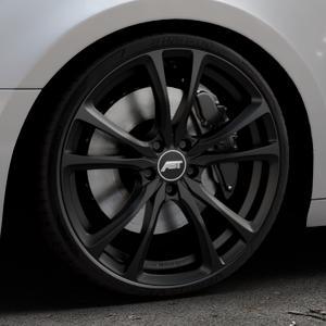 ABT Sportsline ER-C Matt black Felge mit Reifen schwarz in 20Zoll Winterfelge Alufelge auf silbernem Audi A4 Typ B9 (Avant) ⬇️ mit 15mm Tieferlegung ⬇️ Industriehalle 1 Thumbnail