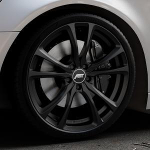 ABT Sportsline ER-C Matt black Felge mit Reifen schwarz in 20Zoll Winterfelge Alufelge auf silbernem Audi A6 Typ 4G/C7 (Avant) ⬇️ mit 15mm Tieferlegung ⬇️ Industriehalle 1 Thumbnail
