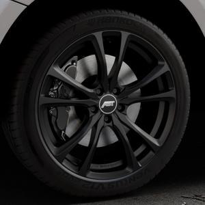 ABT Sportsline ER-C Matt black Felge mit Reifen schwarz in 20Zoll Winterfelge Alufelge auf silbernem Audi Q5 I Typ 8R ⬇️ mit 15mm Tieferlegung ⬇️ Industriehalle 1 Thumbnail