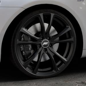 ABT Sportsline ER-C Matt black Felge mit Reifen schwarz in 20Zoll Winterfelge Alufelge auf silbernem Volkswagen (VW) Scirocco III Typ 13 ⬇️ mit 15mm Tieferlegung ⬇️ Industriehalle 1 Thumbnail