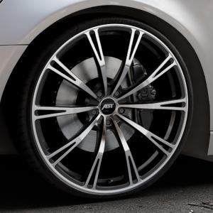 ABT Sportsline GR Matt black Felge mit Reifen schwarz mehrfarbig in 22Zoll Alufelge auf silbernem Audi A6 Typ 4G/C7 (Avant) ⬇️ mit 15mm Tieferlegung ⬇️ Industriehalle 1 Thumbnail