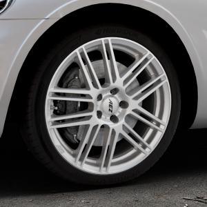 AEZ Cliff High gloss Felge mit Reifen silber in 18Zoll Winterfelge Alufelge auf silbernem Chrysler PT Cruiser Cabriolet ⬇️ mit 15mm Tieferlegung ⬇️ Industriehalle 1 Thumbnail