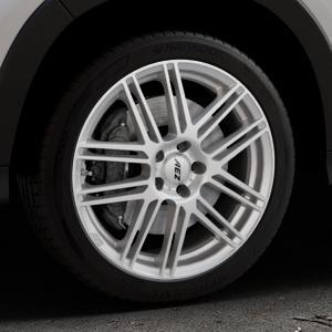 AEZ Cliff High gloss Felge mit Reifen silber in 18Zoll Winterfelge Alufelge auf silbernem Honda HR-V II (RU) ⬇️ mit 15mm Tieferlegung ⬇️ Industriehalle 1 Thumbnail