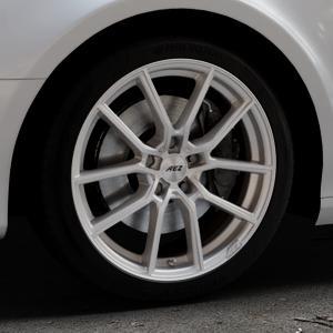 AEZ Raise High gloss Felge mit Reifen in 18Zoll Winterfelge Alufelge auf silbernem Audi A4 Typ 8K5/B8 (Avant) ⬇️ mit 15mm Tieferlegung ⬇️ Industriehalle 1 Thumbnail