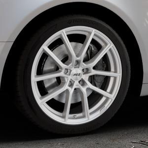 AEZ Raise High gloss Felge mit Reifen in 18Zoll Winterfelge Alufelge auf silbernem Audi A6 Typ 4F/C6 (Limousine) ⬇️ mit 15mm Tieferlegung ⬇️ Industriehalle 1 Thumbnail