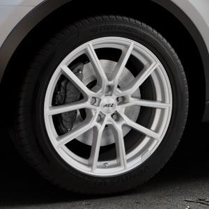 AEZ Raise High gloss Felge mit Reifen in 18Zoll Winterfelge Alufelge auf silbernem Audi Q3 I Typ 8U Facelift ⬇️ mit 15mm Tieferlegung ⬇️ Industriehalle 1 Thumbnail