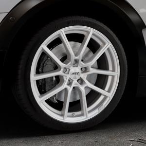 AEZ Raise High gloss Felge mit Reifen in 18Zoll Winterfelge Alufelge auf silbernem Mini F54 Typ UKL-L (Clubman) FMK ⬇️ mit 15mm Tieferlegung ⬇️ Industriehalle 1 Thumbnail
