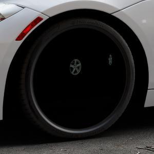 AEZ Raise High gloss Felge mit Reifen in 19Zoll Winterfelge Alufelge auf silbernem BMW Z4 Roadster Typ E89 (Z89, ZR) ⬇️ mit 15mm Tieferlegung ⬇️ Industriehalle 1 Thumbnail