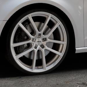AEZ Raise High gloss Felge mit Reifen in 20Zoll Winterfelge Alufelge auf silbernem Audi A3 Typ 8V ⬇️ mit 15mm Tieferlegung ⬇️ Industriehalle 1 Thumbnail