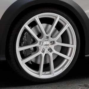 AEZ Raise High gloss Felge mit Reifen in 20Zoll Winterfelge Alufelge auf silbernem Audi A4 Typ 8KH/B8 Allroad ⬇️ mit 15mm Tieferlegung ⬇️ Industriehalle 1 Thumbnail