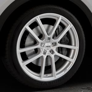 AEZ Raise High gloss Felge mit Reifen in 20Zoll Winterfelge Alufelge auf silbernem Audi Q5 II Typ FY ⬇️ mit 15mm Tieferlegung ⬇️ Industriehalle 1 Thumbnail