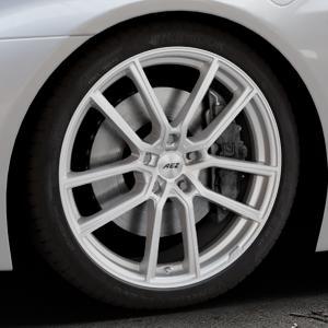 AEZ Raise High gloss Felge mit Reifen in 20Zoll Winterfelge Alufelge auf silbernem BMW i8 Coupe (BMWi-2) ⬇️ mit 15mm Tieferlegung ⬇️ Industriehalle 1 Thumbnail