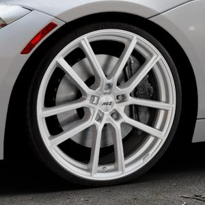 AEZ Raise High gloss Felge mit Reifen in 20Zoll Winterfelge Alufelge auf silbernem BMW Z4 Roadster Typ E89 (Z89, ZR) ⬇️ mit 15mm Tieferlegung ⬇️ Industriehalle 1 Thumbnail
