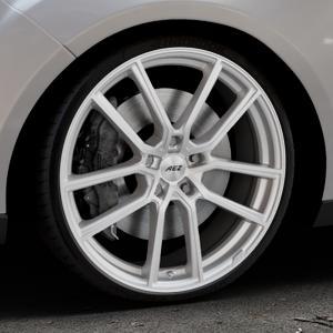 AEZ Raise High gloss Felge mit Reifen in 20Zoll Winterfelge Alufelge auf silbernem Ford Focus III Typ DYB Facelift (Turnier) ⬇️ mit 15mm Tieferlegung ⬇️ Industriehalle 1 Thumbnail