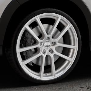AEZ Raise High gloss Felge mit Reifen in 20Zoll Winterfelge Alufelge auf silbernem Honda HR-V II (RU) ⬇️ mit 15mm Tieferlegung ⬇️ Industriehalle 1 Thumbnail