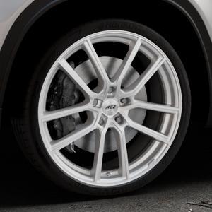 AEZ Raise High gloss Felge mit Reifen in 20Zoll Winterfelge Alufelge auf silbernem Suzuki Vitara Typ LY ⬇️ mit 15mm Tieferlegung ⬇️ Industriehalle 1 Thumbnail