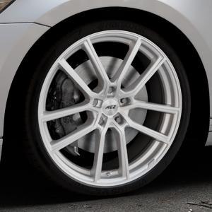 AEZ Raise High gloss Felge mit Reifen in 20Zoll Winterfelge Alufelge auf silbernem Volkswagen (VW) Passat 3C/B8 Limousine Variant ⬇️ mit 15mm Tieferlegung ⬇️ Industriehalle 1 Thumbnail