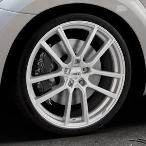 AEZ Raise High gloss Felge mit Reifen in 20Zoll Winterfelge Alufelge auf silbernem Volkswagen (VW) The Beetle Typ 16 ⬇️ mit 15mm Tieferlegung ⬇️ Industriehalle 1 Thumbnail