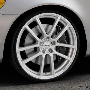 AEZ Raise High gloss Felge mit Reifen in 20Zoll Winterfelge Alufelge auf silbernem Volvo C70 II Cabriolet Typ M ⬇️ mit 15mm Tieferlegung ⬇️ Industriehalle 1 Thumbnail