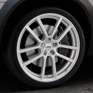 AEZ Raise High gloss Felge mit Reifen in 20Zoll Winterfelge Alufelge auf silbernem Volvo XC70 II Typ B ⬇️ mit 15mm Tieferlegung ⬇️ Industriehalle 1 Thumbnail
