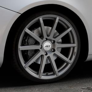 AEZ Straight Graphite matt Felge mit Reifen grau in 19Zoll Winterfelge Alufelge auf silbernem Alfa Romeo Giulietta Typ 940 ⬇️ mit 15mm Tieferlegung ⬇️ Industriehalle 1 Thumbnail