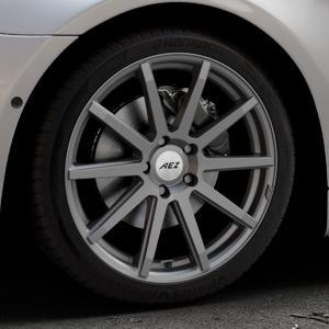 AEZ Straight Graphite matt Felge mit Reifen grau in 19Zoll Winterfelge Alufelge auf silbernem BMW 640i Typ F13 (Coupe) 650i 640d xDrive ⬇️ mit 15mm Tieferlegung ⬇️ Industriehalle 1 Thumbnail