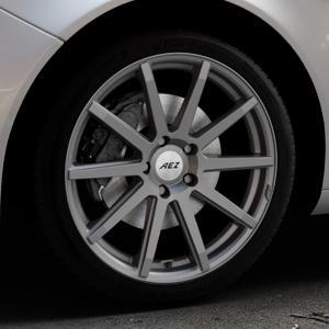 AEZ Straight Graphite matt Felge mit Reifen grau in 19Zoll Winterfelge Alufelge auf silbernem Opel Insignia I Sports Tourer Facelift ⬇️ mit 15mm Tieferlegung ⬇️ Industriehalle 1 Thumbnail