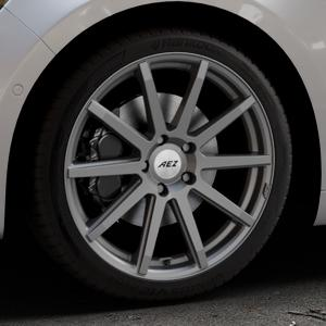 AEZ Straight Graphite matt Felge mit Reifen grau in 19Zoll Winterfelge Alufelge auf silbernem Renault Talisman Typ RFD ⬇️ mit 15mm Tieferlegung ⬇️ Industriehalle 1 Thumbnail