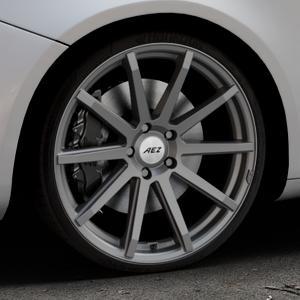 AEZ Straight Graphite matt Felge mit Reifen grau in 20Zoll Winterfelge Alufelge auf silbernem Alfa Romeo Giulietta Typ 940 ⬇️ mit 15mm Tieferlegung ⬇️ Industriehalle 1 Thumbnail