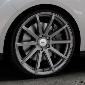 AEZ Straight Graphite matt Felge mit Reifen grau in 20Zoll Winterfelge Alufelge auf silbernem Ford C-Max II Typ DXA (10->) ⬇️ mit 15mm Tieferlegung ⬇️ Industriehalle 1 Thumbnail