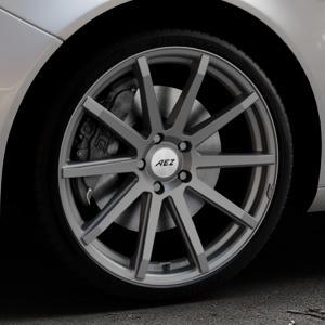 AEZ Straight Graphite matt Felge mit Reifen grau in 20Zoll Winterfelge Alufelge auf silbernem Opel Insignia I Sports Tourer Facelift ⬇️ mit 15mm Tieferlegung ⬇️ Industriehalle 1 Thumbnail