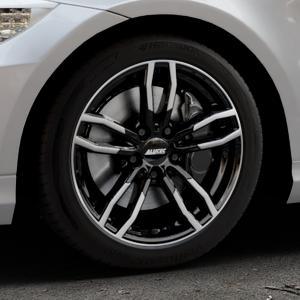 ALUTEC Drive diamant-schwarz frontpoliert Felge mit Reifen mehrfarbig in 17Zoll Alufelge auf silbernem BMW 318i Typ E91 (Touring) 320i 325i 330i 320d 330d 318d 325xi 330xi 335i 335d 325d 330xd 335xi 320xd 316d 316i ⬇️ mit 15mm Tieferlegung ⬇️ Industriehalle 1 Thumbnail