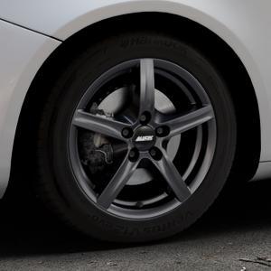 ALUTEC Grip graphit Felge mit Reifen grau in 16Zoll Winterfelge Alufelge auf silbernem Alfa Romeo Giulietta Typ 940 ⬇️ mit 15mm Tieferlegung ⬇️ Industriehalle 1 Thumbnail