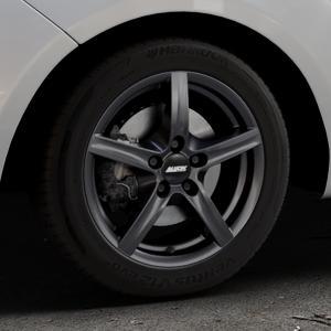 ALUTEC Grip graphit Felge mit Reifen grau in 16Zoll Winterfelge Alufelge auf silbernem Hyundai ix20 Typ JC ⬇️ mit 15mm Tieferlegung ⬇️ Industriehalle 1 Thumbnail