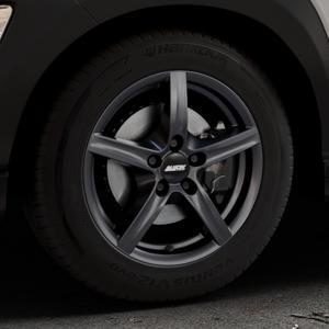 ALUTEC Grip graphit Felge mit Reifen grau in 16Zoll Winterfelge Alufelge auf silbernem Hyundai Kona Typ OS ⬇️ mit 15mm Tieferlegung ⬇️ Industriehalle 1 Thumbnail