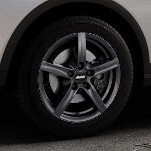 ALUTEC Grip graphit Felge mit Reifen grau in 16Zoll Winterfelge Alufelge auf silbernem Seat Arona Typ KJ ⬇️ mit 15mm Tieferlegung ⬇️ Industriehalle 1 Thumbnail