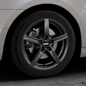 ALUTEC Grip graphit Felge mit Reifen grau in 16Zoll Winterfelge Alufelge auf silbernem Skoda Octavia III Kombi Typ 5E Facelift ⬇️ mit 15mm Tieferlegung ⬇️ Industriehalle 1 Thumbnail