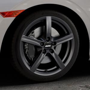 ALUTEC Grip graphit Felge mit Reifen grau in 17Zoll Winterfelge Alufelge auf silbernem Honda Civic 10 Schrägheck (FC) ⬇️ mit 15mm Tieferlegung ⬇️ Industriehalle 1 Thumbnail