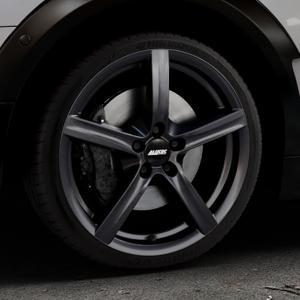 ALUTEC Grip graphit Felge mit Reifen grau in 18Zoll Winterfelge Alufelge auf silbernem Mini F54 Typ UKL-L (Clubman) FMK ⬇️ mit 15mm Tieferlegung ⬇️ Industriehalle 1 Thumbnail