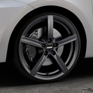 ALUTEC Grip graphit Felge mit Reifen grau in 18Zoll Winterfelge Alufelge auf silbernem Suzuki Swift VI Typ AZ ⬇️ mit 15mm Tieferlegung ⬇️ Industriehalle 1 Thumbnail