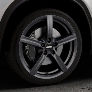 ALUTEC Grip graphit Felge mit Reifen grau in 18Zoll Winterfelge Alufelge auf silbernem Suzuki Vitara Typ LY ⬇️ mit 15mm Tieferlegung ⬇️ Industriehalle 1 Thumbnail