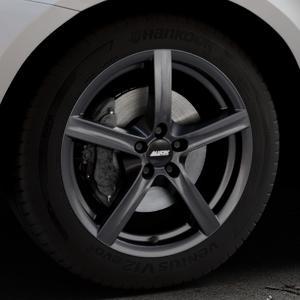 ALUTEC Grip graphit Felge mit Reifen grau in 18Zoll Winterfelge Alufelge auf silbernem Volvo XC60 Typ D Facelift ⬇️ mit 15mm Tieferlegung ⬇️ Industriehalle 1 Thumbnail