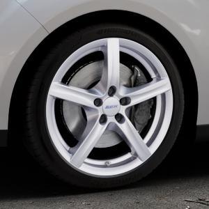 ALUTEC Grip polar-silber Felge mit Reifen in 18Zoll Winterfelge Alufelge auf silbernem Ford C-Max II Typ DXA (10->) ⬇️ mit 15mm Tieferlegung ⬇️ Industriehalle 1 Thumbnail