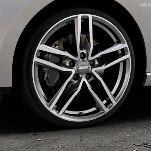 ALUTEC Ikenu graphit frontpoliert Felge mit Reifen grau mehrfarbig in 19Zoll Alufelge auf silbernem Seat Leon Typ 5F ST Facelift ⬇️ mit 15mm Tieferlegung ⬇️ Industriehalle 1 Thumbnail