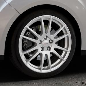 ALUTEC Monstr polar-silber Felge mit Reifen in 18Zoll Winterfelge Alufelge auf silbernem Ford Grand C-Max Typ DXA Facelift (15->) ⬇️ mit 15mm Tieferlegung ⬇️ Industriehalle 1 Thumbnail