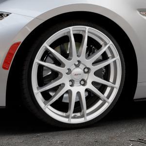 ALUTEC Monstr polar-silber Felge mit Reifen in 18Zoll Winterfelge Alufelge auf silbernem Mazda MX-5 IV RF (ND) ⬇️ mit 15mm Tieferlegung ⬇️ Industriehalle 1 Thumbnail